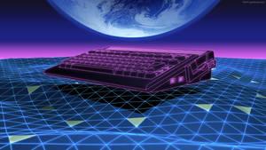 Amiga 600 TRON style by zgodzinski