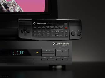 Commodore Amiga CDTV remote control in 3D by zgodzinski