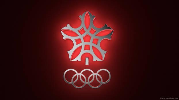 Calgary Olympics logo (1988) by zgodzinski