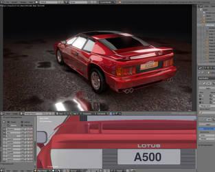 Lotus Turbo Esprit 1989 - work in progress by zgodzinski