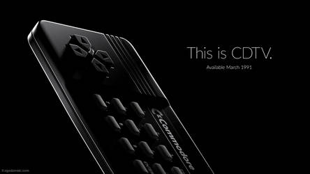Commodore CDTV - Apple iPhone 7 ad parody by zgodzinski