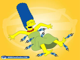 Marge tickled by Newmster