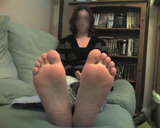 Girlfriends feet 1 by Newmster