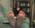 Girlfriends feet 1 by Newmster