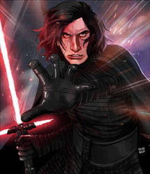 Kylo Ren by MachoMachi