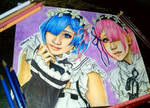 rem and ram by queencastilla