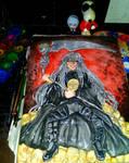god of death by queencastilla