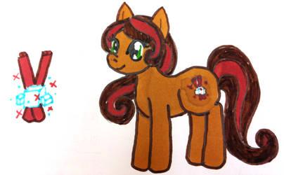 Pony OC - Cinnamon Swirl by doux-merise
