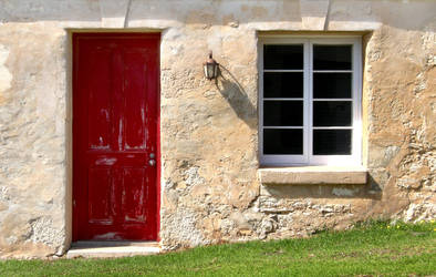 The Red Door by ThatHatChick