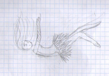 falling by FelixaTheSquirrel