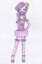 human Lumpy Space Princess by FelixaTheSquirrel