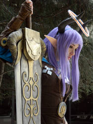 Castanic Slayer Cosplay by ButtercupBrix