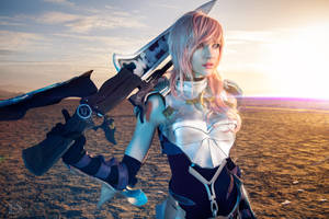 Lightning cosplay by ButtercupBrix