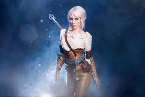 Ciri cosplay from the Witcher 3 by ButtercupBrix