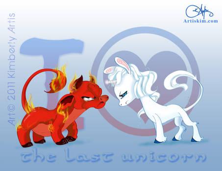I Heart The LAst UniCorn by KimistryLooneyArtis