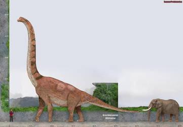 Brachiosaurus by SameerPrehistorica