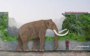 Steppe Mammoth by SameerPrehistorica