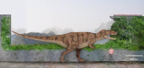 Carcharodontosaurus by SameerPrehistorica