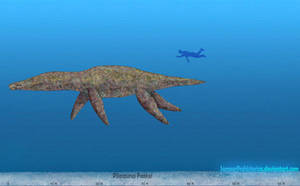 Pliosaurus Funkei by SameerPrehistorica