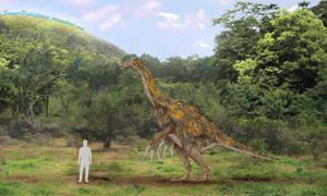 Therizinosaurus by SameerPrehistorica