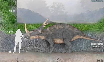 Rubeosaurus by SameerPrehistorica
