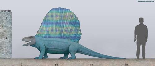 Dimetrodon by SameerPrehistorica