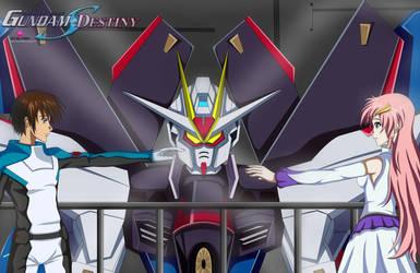 Kira X Lacus- Strike Freedom by Ragna121