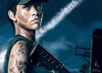 Battleship-Rihanna by danb13
