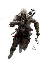 ASSASSIN'S CREED 3 by danb13