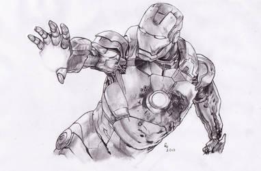 IRON MAN 3 by danb13