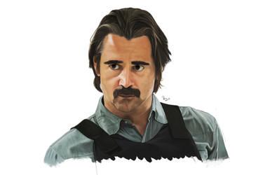 True Detective | Ray Velcoro Portrait by danb13