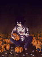 Halloween with L by LuuPetitek
