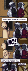 Are you a couple? (comic) by LuuPetitek