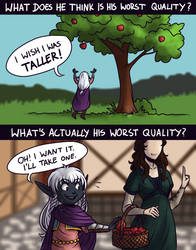 Baedrin replies: What's his worst quality? by LuuPetitek