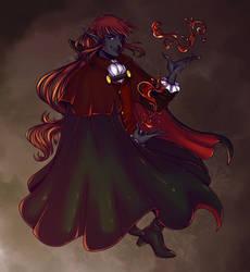 Secret Santa Drowcember: Solomon (gift) by LuuPetitek