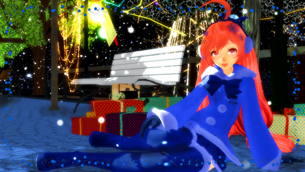 .:Winter Contest Entry featuring Snow Miki 2015:. by VenusSempai