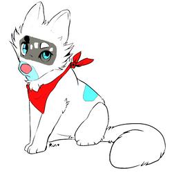 Wolf Cub Adoptable by XxCatySnivyxX