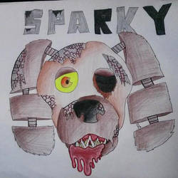 Sparky [WARNING GORY] by XxCatySnivyxX