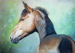 Pastel horse by Eija-H