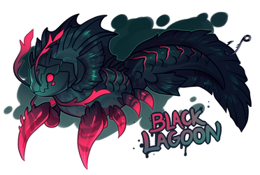 [closed] - THE PACA FROM THE BLACK LAGOON auction by Skelefrog