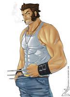 X-Man - Wolverine by erickenji