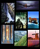 Landscape Studies 02 by erickenji