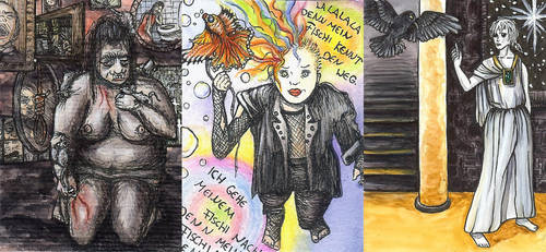 Despair - Delirium - Dream by theoneandonlyClown