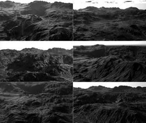 Landscape, six views. by alexalvarez