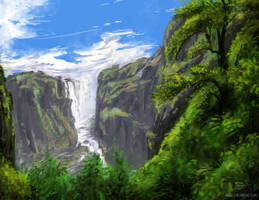 Day 39 (Jungle Falls) by pabsurdy