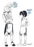 Lin loves Aang more. by compoundbreadd