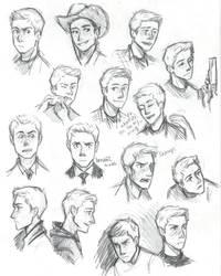 Dean Winchester by compoundbreadd
