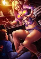 Big Nerd: Stephanie Frost By JoseRodMota by Pettyexpo