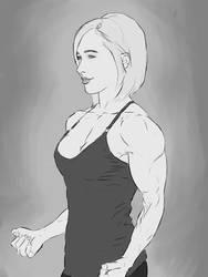 Hayden Panettiere Sketch by dr-robert420