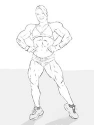 Alina Popa Sketch by dr-robert420